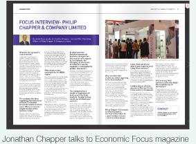 Jonathan Chapper talks to Economic Focus magazine
